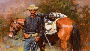 Cowboy up for million-dollar Western art at Coeur d'Alene Auction in Reno