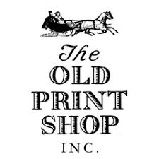 The Old Print Shop Logo
