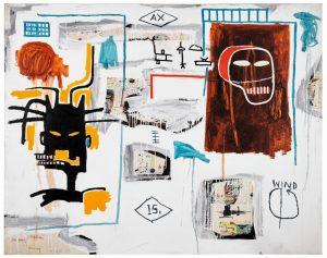 Jean-Michel Basquiat's Apex,,painting
