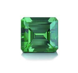 A 2.74ct natural Colombian emerald, estimated $15,000/$20,000, lot sold for USD 175,000 ($63,868/ct)