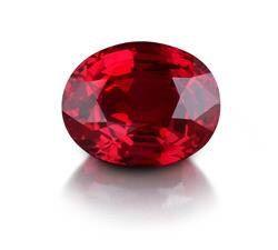 A 2.58ct natural Burma ruby, estimated $20,000/$40,000, lot sold for USD 118,750 ($46,027/ct)