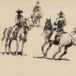 PR-211 An Earlier West Books Prints Pamphlets by Sante Fe Art Auction