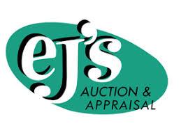 EJ'S Auction & Appraisal Logo