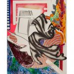 Frank Stella; Moby Dick, from Waves II
