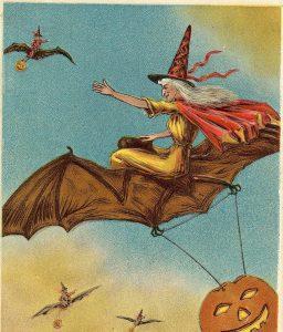 Antique - Vintage Postcard Halloween