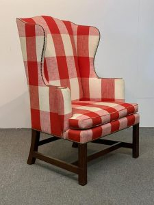 Kittinger Colonial Williamsburg Wing Chair/AuctionDaily