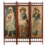 Duke Tobacco Poster Double Sided Folding Screen/AuctionDaily