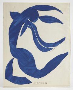 Henri Matisse -La Chevelure 1952/AuctionDaily