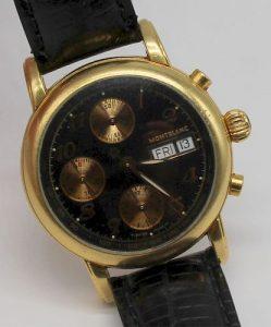 JEWELRY. Men's Montblanc Meisterstuck 18kt Gold