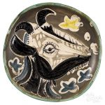 Pablo Picasso, Madoura earthenware charger/Auctiondaily