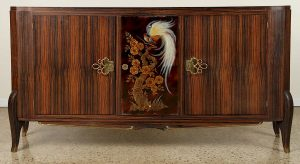 WONDERFUL FRENCH MACASSAR SIDEBOARD CIRCA 1940/Auctiondaily