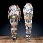 Pair of Plateau Beaded Hide Toy Cradles, From the James B. Scoville Collection/AuctionDaily