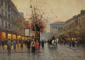 Edouard Léon Cortès (French, 1882-1969)/AuctionDaily