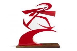 G Balla, Linee di forza del pugno di Boccioni II/Auctiondaily