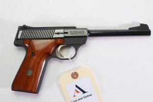 Browning Challenger II semi-automatic pistol.