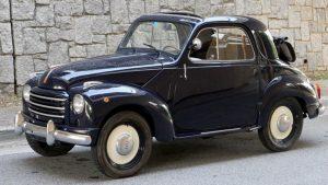 1953 Fiat 500C 'Topolino' two door convertible