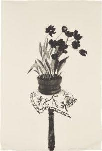 DAVID HOCKNEY Black Tulips/Auctiondaily