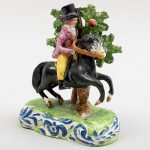 Staffordshire Figure of an Equestrian