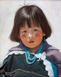 George Molnar (American, b. 1953) Pueblo Half Pint/Auctiondaily