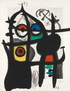 Joan Miró La Captive.