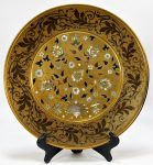 Corviniello Bronze MOP Inlaid Charger