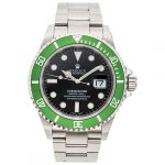 ROLEX OYSTER PERPETUAL DATE SUBMARINER ANIVERSARY EDITION. STEEL. REF. 16610T. CA. 2003