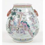 Chinese Qing Dynasty Hu-form Vase