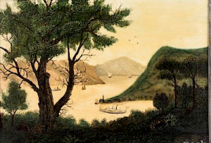 Hudson Valley 19c Painting