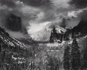 ANSEL ADAMS (1902–1984) Mount Williamson, Sierra Nevada, from Manzanar, California, 1944