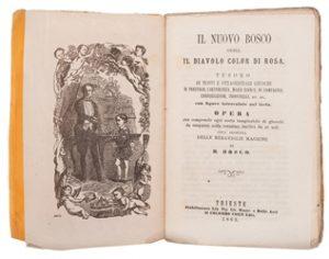 Bosco, B. Il Nouvo Bosco, ossia il Diavolo color di Rosa.