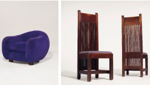 RELEASE - Christie's Announces December Design Sale Including Rare Frank Lloyd Wright Chairs