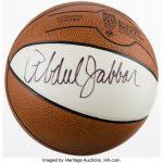 Kareem Abdul-Jabbar Signed Basketball....