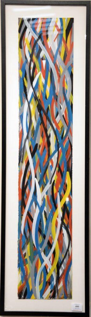 Sol LeWitt (1928 - 2007), Wavy Brushstrokes