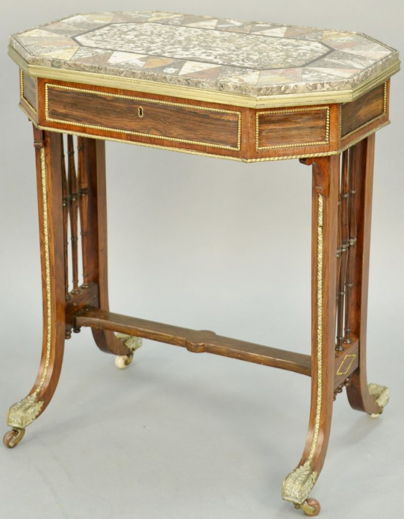 Regency Specimen Marble Occasional Table, attributed to Gillows