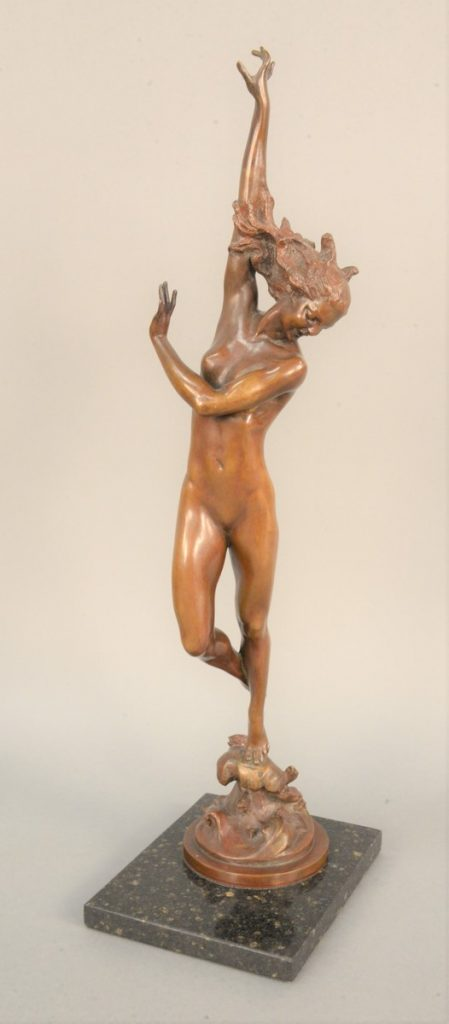 Harriet Whitney Frishmuth (1880-1980),   Crest of the Wave