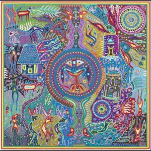 Modesto Rivera Lemus (Huichol, 20th century) Yarn Paintings on Board, From the Collection of Robert B. Riley, Urbana, IL