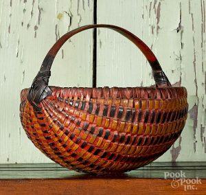 Painted god's-eye basket
