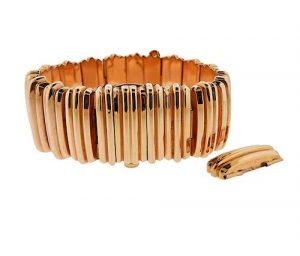 Patek Philippe 18k Rose Gold Watch Bracelet Ref. 2075