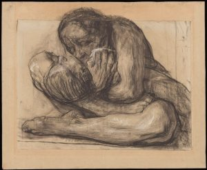 Woman with Dead Child (1903), one of the 650 works that Richard Simms gave to the Getty © 2019 Artists Rights Society (ARS), New York