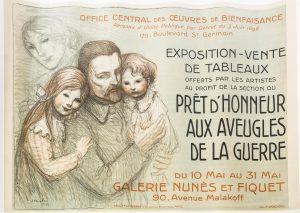 Poster Advertising Exposition Vente De Tableaux