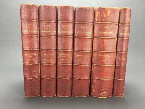Marshall, Life of Washington w-Atlas. 1804-7