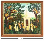 Orville Bulman 'Jungle Patrole' Oil Painting