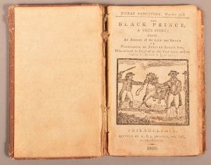 Rare 1800 Philadelphia Chapbook Black Prince