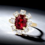 5.16-Carat Very Fine Ruby and Diamond Ring