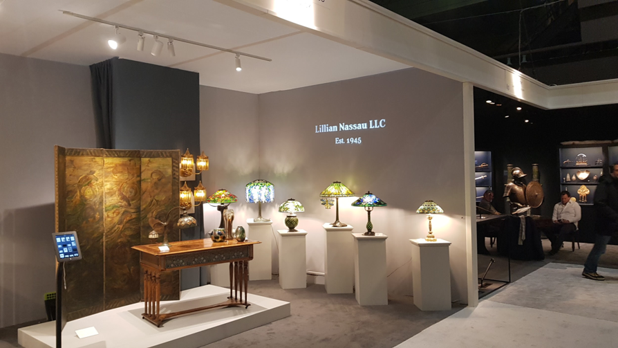 Lamps by Tiffany Studios offered by Lillian Nassau