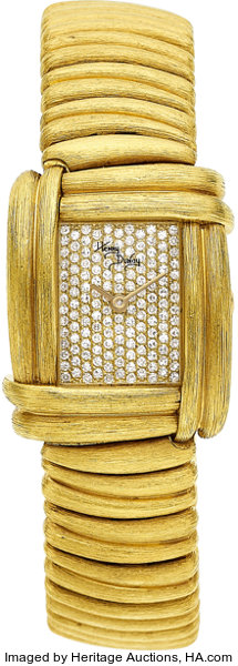 Henry Dunay Lady's Diamond, Gold Sabi Watch