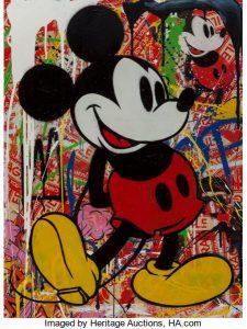 Mr. Brainwash (b. 1966) Mickey Mouse