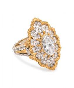 BUCCELLATI, DIAMOND RING