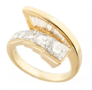 Nova 18k 2.38 CTW Diamond Bypass Ring