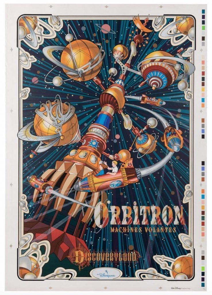 Orbitron Silk-Screened Poster